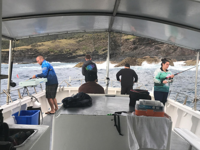 competition fishing adventure